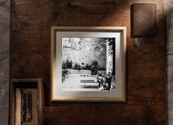 Pause Déjeuner (12x12 Frame/10x10 Print)