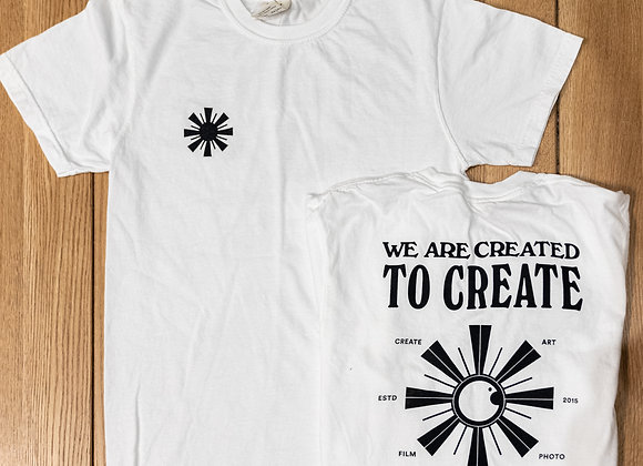 Created to Create - Laux T-Shirt (Comfort Colors)