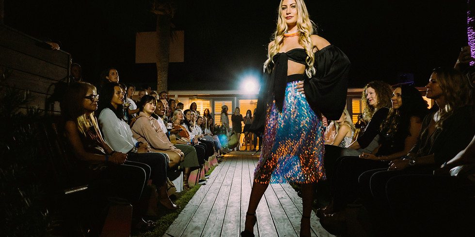 Beaches Town Center Fashion Show and Pop-Up Party at Hotel Palms