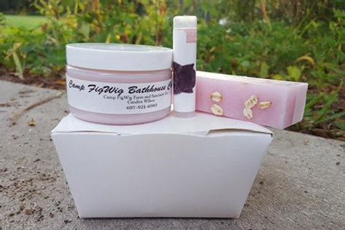 The Oink Box with Lip Balm