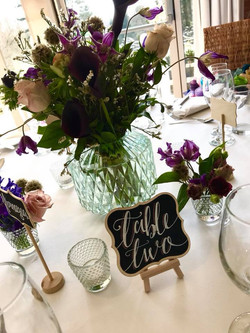 Table name plates