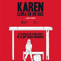 Karen llora en un bus - 2010