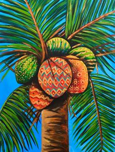 Festive coconuts