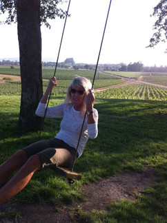 Sister Cindy swinging at Scribe.jpg