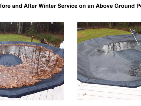 The importance of winter pool maintenance.