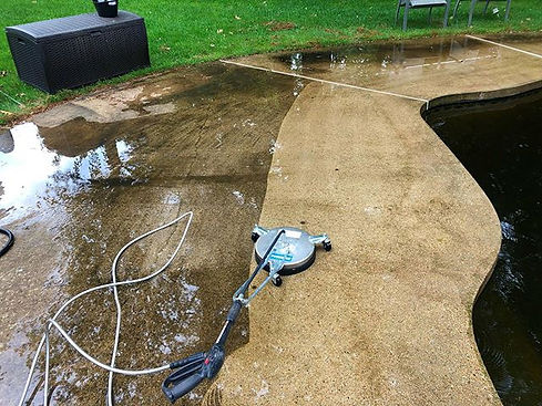 Pressure wash is a great add on to your