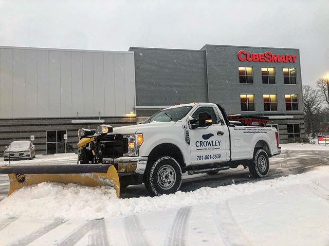 Snow team in action!