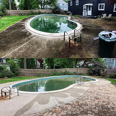 It's amazing what a pressure wash can do