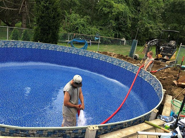 "24"" Pool and Liner Installation"