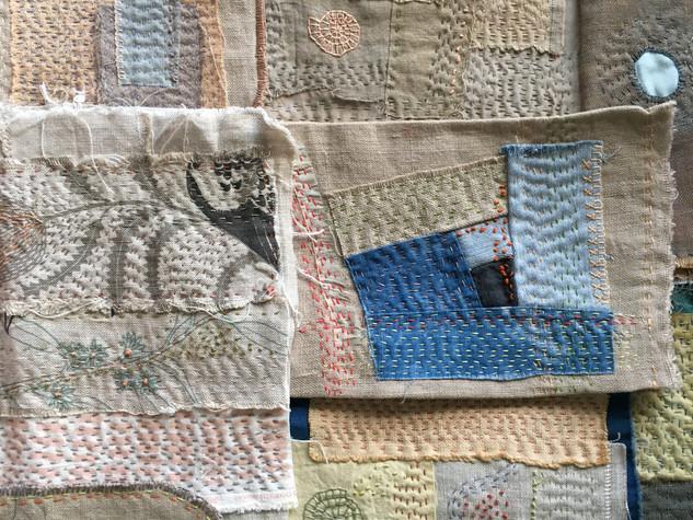Online Workshop - Slow Stitching