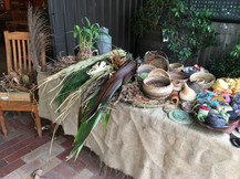 Baskets made from plants