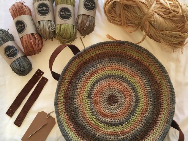Raffia Basket Making Kit