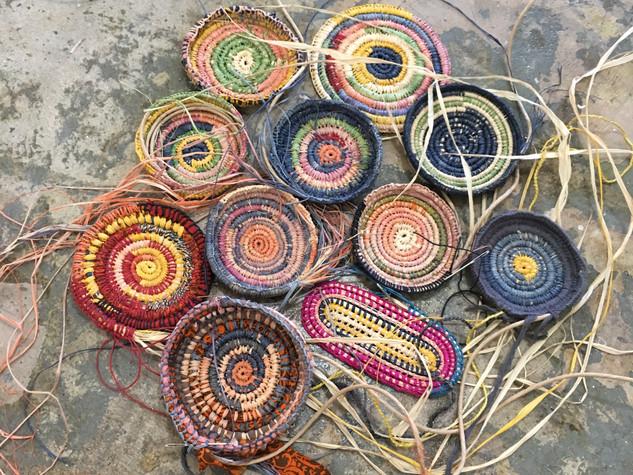 Raffia Baskets - Healesville VIC