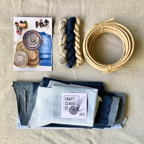 Basket Making Kit - Denim