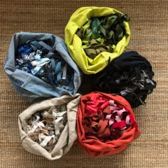 Reduce. Reuse. Recycle: using thrift shops to make recycled textile baskets