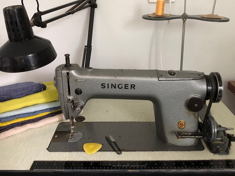 A crafters journey: it began with a Singer!