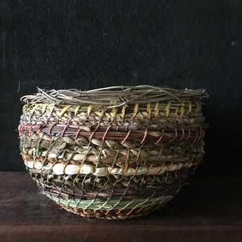 Basket made from plants