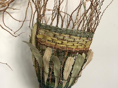 Exhibition Alert: Nicole Robins, Sydney basketry and fibre artist