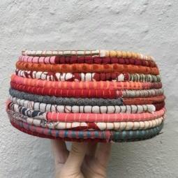 Online Textile Basket Workshop