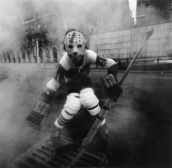 Hockey Player, NY, 1971