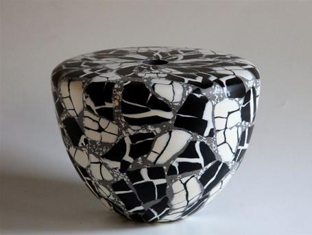 Black and White Vase, 2013