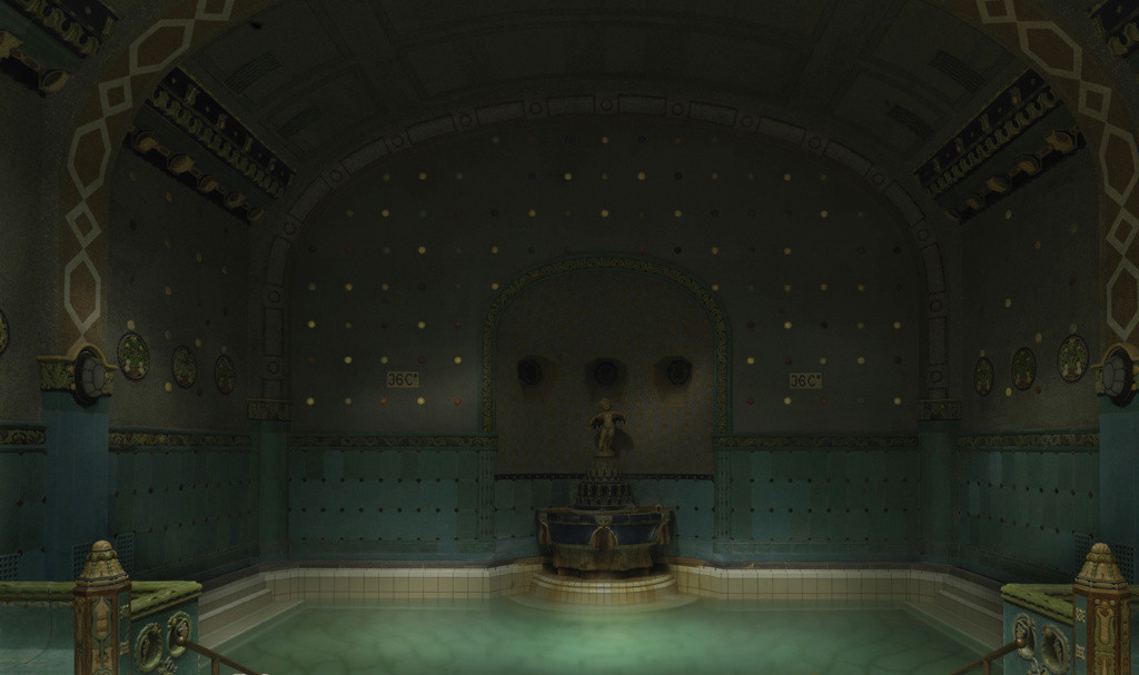 The Dream of the Turks - Gellert Thermal Baths - Budapest, 2012