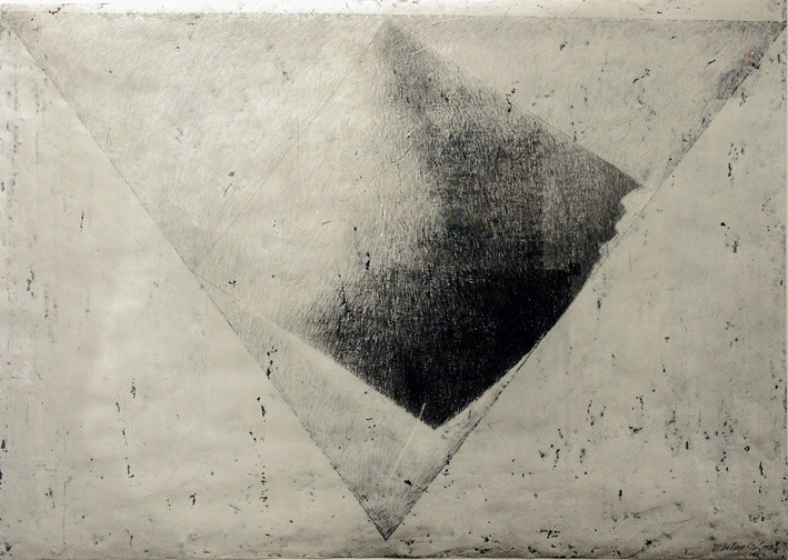 Study for Blue Pyramid, 1993