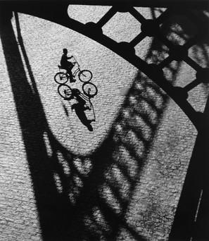Boy Under Bridge, NY, 1968