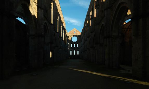 St. Galgano Abbey, Siena, Italy, 2011