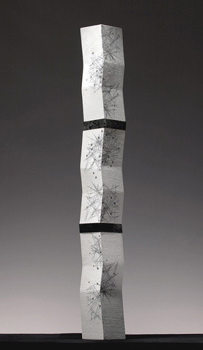 Black and White Mist Monolith, 2007