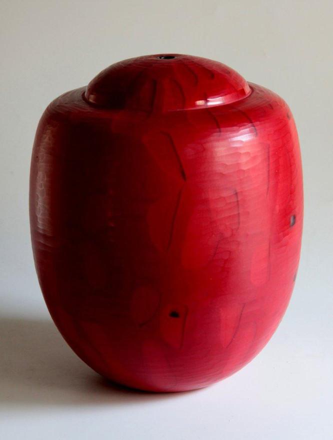 Red Vase, 2013