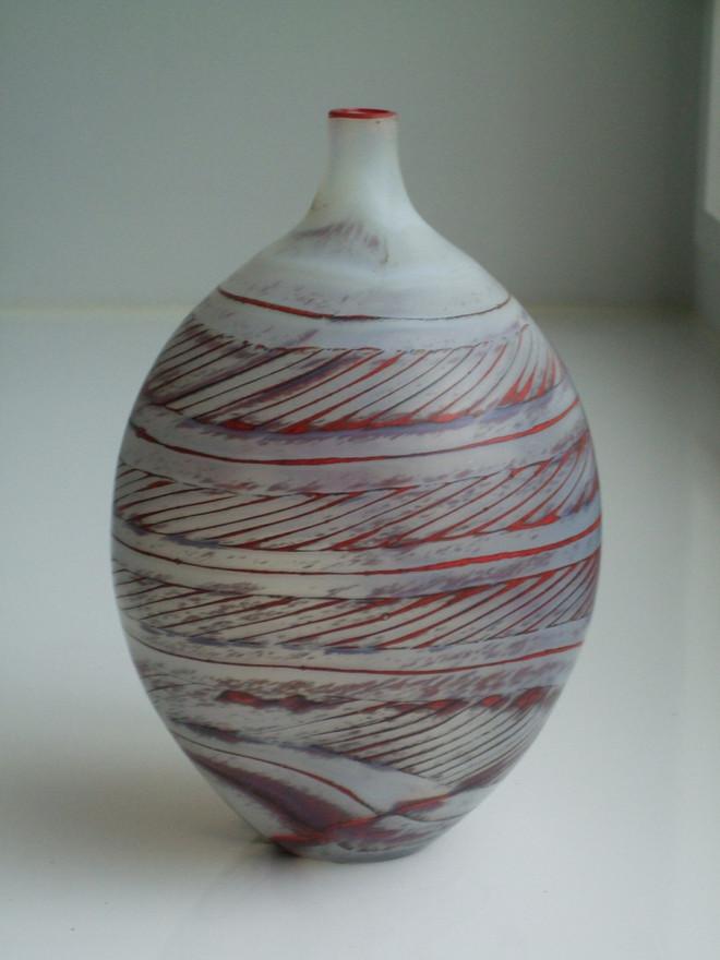 """Opalino con polvere"" Vase, 1997"