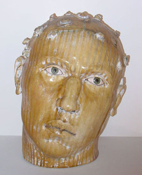 Cabeza Amarilla con Rizas (Yellow Head with Curls), 2005