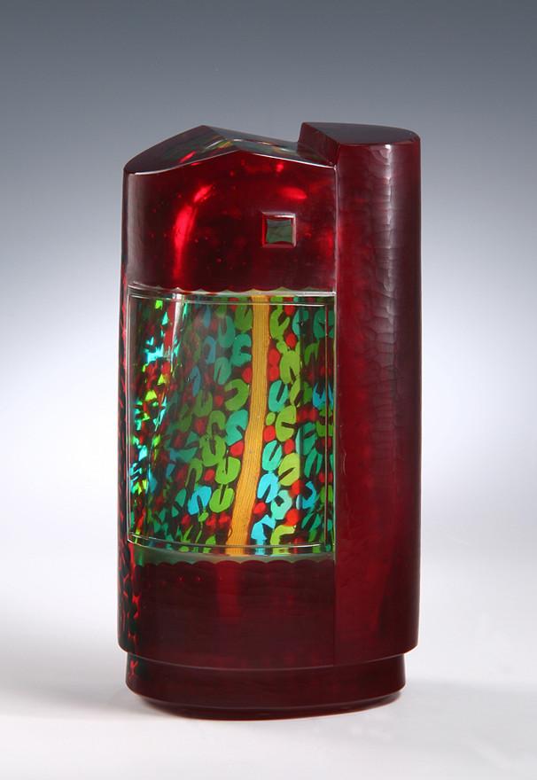 """""""Calle di Venezia N. 10 -Casa rossa-"""" Vase, 2008"""