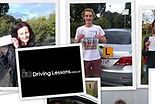 Learner drivers pass drving test