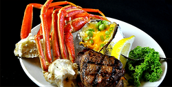 Filet and snow crab