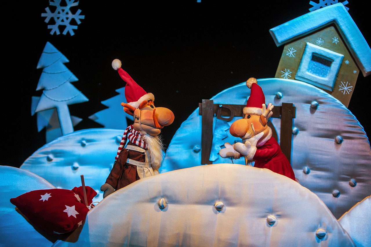 Подарок для Деда Мороза 3+
