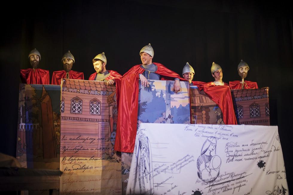 Сказка о царевне и семи богатырях 5+