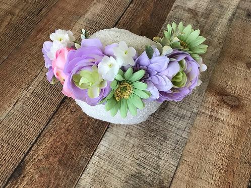Floral Breeze Crown