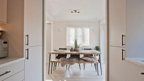 contemporary small kitchen weybridge.12.
