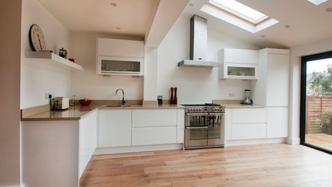 Minimal kitchen design surrey