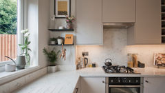 contemporary small kitchen weybridge.4.j