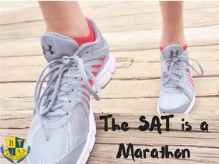 The SAT is a Marathon