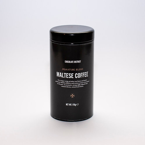 Maltese Coffee, Signature Blend in Tin Canister, 170Gr.