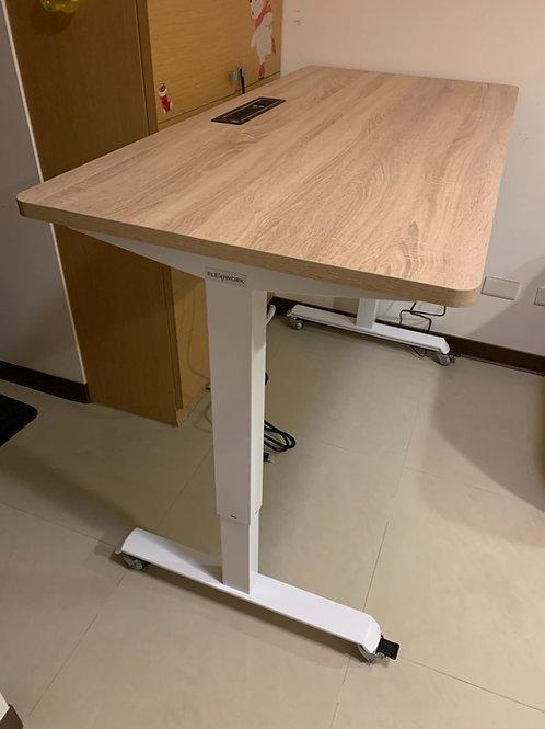 安寶電動升降桌W90xD70(尺寸可訂做90~180cm,貼皮36色)