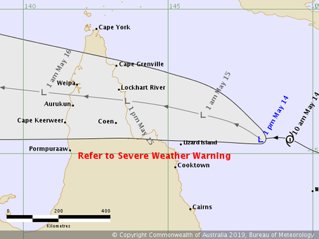 TROPICAL CYCLONE ANN DOWNGRADED TO A LOW