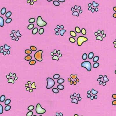 Pink Paw Print