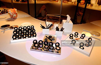 lancome products tablescape table.jpg
