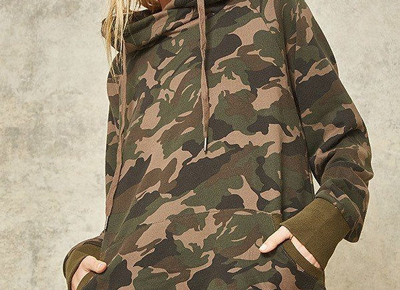 Cool Camouflage Hoodie W/Front Pocket