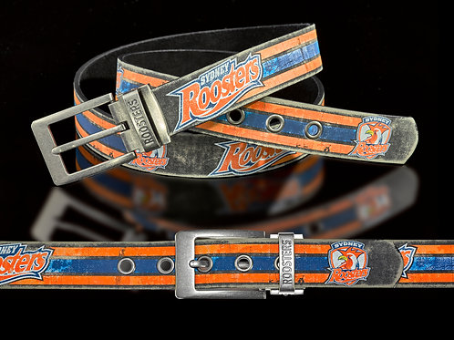 Sydney Roosters PU/Leather Colour Belt